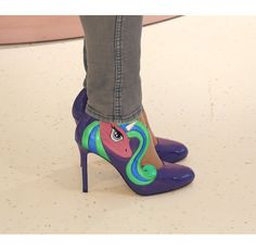 MinnaParikka_ My Little Pony_ Shoes My Little Pony Shoes, Stiletto Heels, Fashion, Moda, Fashion Styles, Fasion, Spike Heels, High Heels, Pumps Heels