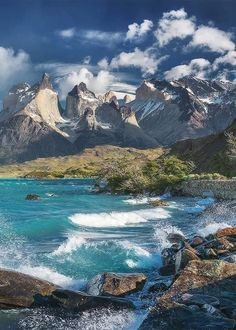 Patagonia, Latina, Beautiful World, Beautiful Places, Chile, Torres Del Paine National Park, Windy Day, Get Outdoors, Outdoor Recreation