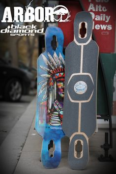 Arbor Catalyst Longboard for Freeride and Downhill skateboarding
