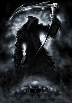 Shadow of Death by AndrewDobell.deviantart.com