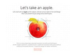 Apple: Showcase your skills by Afzal Apple Illustration, Cool Designs, Presentation, Animation, Ux Design, Clarity, Graphics, Mood, Inspiration