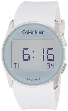 Gender:Unisex Multifunction:no Chronograph:no Dial:digital Glass:mineral Date indicator:yes Case:stainless steel Strap:silicone Fastening:buckle Water atm Case size Original case:yes The post Calvin Klein & appeared first on Top 99 Fashion Brands. Balmain, Calvin Klein Watch, Bracelet Silicone, Luxury Bags, Watch Sale, Digital Alarm Clock, Digital Watch, Latest Fashion, Stuff To Buy