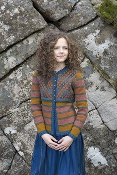 The Damsel Fly hand knitwear design by Alice Starmore from the book Glamourie Cardigan Design, Cardigan Pattern, Fair Isle Pullover, Crochet Market Bag, Quirky Fashion, Fair Isle Knitting, Knitting Patterns, Knitting Ideas, Knitting Designs
