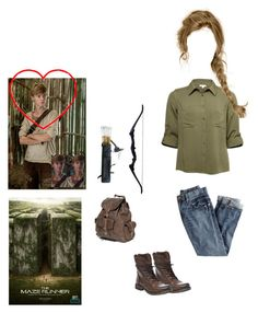 Maze Runner RP by nerdbucket on Polyvore featuring polyvore fashion style J.Crew Steve Madden clothing