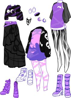 Manga Clothes, Drawing Anime Clothes, Dress Drawing, Anime Girl Drawings, Fashion Design Drawings, Fashion Sketches, Anime Outfits, Cute Outfits, Summer Outfits