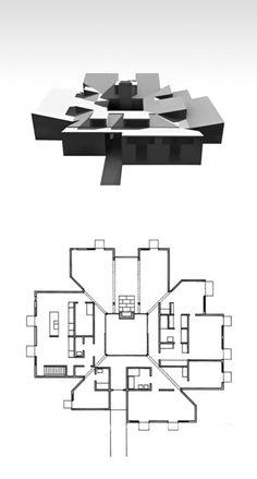 [A3N] : Louis Kahn | Adath Jeshuran Synagogue, 1954-55 Philadelphia