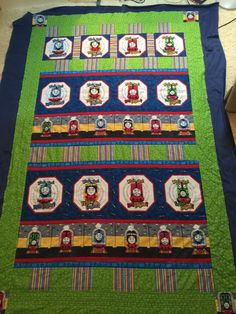 Thomas the Train - The Color Express Quilt | Baby and Kids ... : thomas quilt - Adamdwight.com