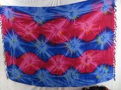 pink blue star burst summer dresses tie dye sarong apparel - http://www.wholesalesarong.com/blog/pink-blue-star-burst-summer-dresses-tie-dye-sarong-apparel/