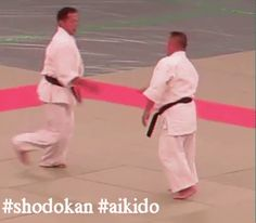 Central London Shodokan Aikido - Google+ - #Shodokan #Aikido technique by Nariyama Shihan #gif