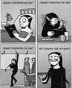 """dai vc termina e bate aquela bad, tp """"o q q eu vou fzr da minha vida agr? I Love Books, Good Books, My Books, Book Memes, Book Quotes, World Of Books, Literary Quotes, Mo S, Book Lovers"""