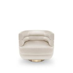 Like in one of the most lasting classic films, Russel Armchair tells a Hollywood story with the brilliance of a golden brass base and the timeless seductive velvet layered over a comfy foam frame. The base can spin 360 degrees, providing stress‐free movement to delve into the space around. Adorn your living room with a sophisticated design piece that incorporates all of the mid‐century elements into a contemporary and sophisticated piece with a golden twist.