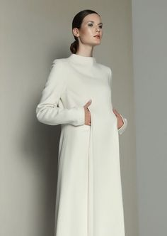 Double Pleated Wool Dress | Kamila Gawronska Kasperska | Shop | NOT JUST A LABEL