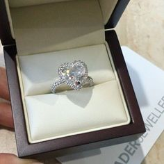 Love By Nader ❤   Beautifully handcrafted Heart shape Diamond Engagement Ring @.