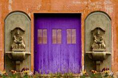 Paarse deur