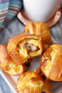 Sausage, Egg and Cheese Breakfast Bombs Recipe on Yummly. @yummly #recipe