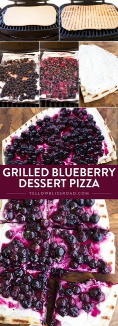 Grilled Blueberry De
