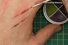 A quick video tutorial that demonstrates how to simply create realistic scratches using basic kit! ------------------------------------------------...
