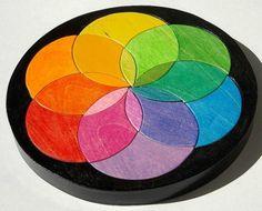 Color wheel puzzle - wonderful.