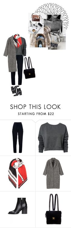 """Без названия #2112"" by asmin ❤ liked on Polyvore featuring Acne Studios, ONLY, Givenchy, Monki, Marni, Chanel and paris"