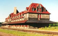 McAdam Station, New Brunswick. On my bucket list for summer accomplished on Aug. Fabulous tour of the station! Old Train Station, Train Stations, Travel English, New Brunswick Canada, My Dream Came True, Prince Edward Island, Train Tracks, Greatest Adventure, Dream Vacations