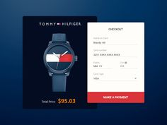 Daily UI challenge #002 - Checkout Page Design...