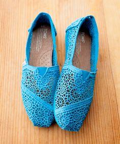 Aqua Morocco Crochet Classics - Women   zulily