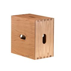 Cassina Tabouret Cabanon Stool Chestnut by Le Corbusier