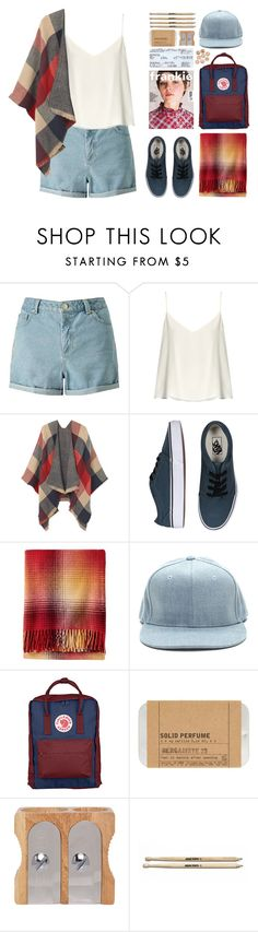 """Dreams of the Summertime"" by dn8-35 ❤ liked on Polyvore featuring Miss Selfridge, Raey, MANGO, Vans, Pendleton, Fjällräven and Le Labo"