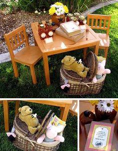 Festa Ursinho Pooh | Macetes de Mãe