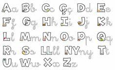 abecedari per plastificar i repassar