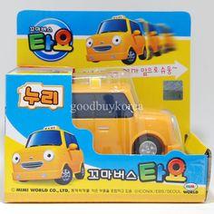 The Little Bus Tayo (Nuri, Taxi) Korea Famous TV Animation Toy in Toys & Hobbies | eBay