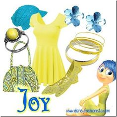 disney Bound Joy Alegria Divertida Mente
