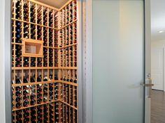 Great wine closet!