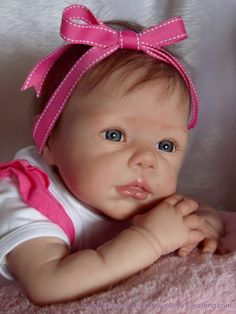 *REBORN BABY DOLL - LILA - ROMIE STRYDOM NEW RELEASE - BIG GIRL***ANOTHER DOLL***LOOKS SO REAL!