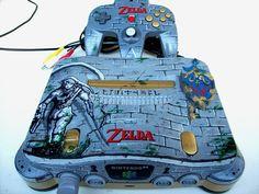 Legend of Zelda Custom Nintendo 64 by mbtaylorproductions.deviantart.com on @deviantART