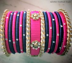 #handmadebangles #weddings #bridal #indianweddings #purplepink