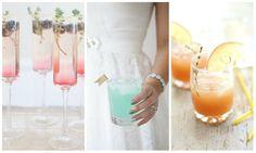 #weddingday #weddingdecoration #weddingcelebration #kamzakrasou Inšpirácie - farebné, osviežujúce a k tomu aj chutné letné svadobné koktaily