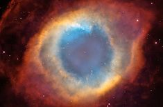 The Helix Nebula resembles a doughnut in colorful images. Earlier images of this complex object, the gaseous envelope ejected by a dying, sun-like star did not allow astronomers to precisely interpret its structure. Observations from several observatories, including NASA's Hubble Space Telescope, established that the Helix's structure is even more perplexing. Their evidence suggests that the Helix consists of two gaseous disks nearly perpendicular to each other.