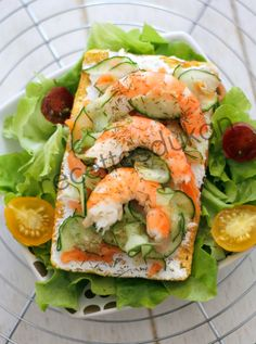 Tartine Scandinave Dukan Bataille Food Fresh Rolls, Cucumber, Vegetables, Ethnic Recipes, Food, Loosing Weight, Battle, Kitchens, Scandinavian