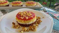 Diós-kókuszos süti eperrel egészségesen
