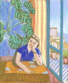 アンリ・マティス 《窓辺の婦人》 1935年