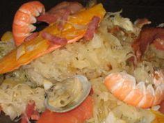 Recette - Choucroute de fruits de mer et algues | Notée 4.2/5