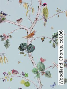 Tapete Woodland Chorus, col.06  | Die TapetenAgentur