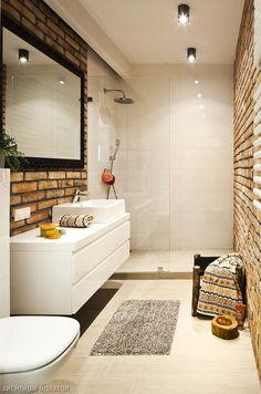 zdjęcia wąska łazienka