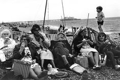 Brighton Beach, England, 1966. Love it! I'm looking for me gran! lol
