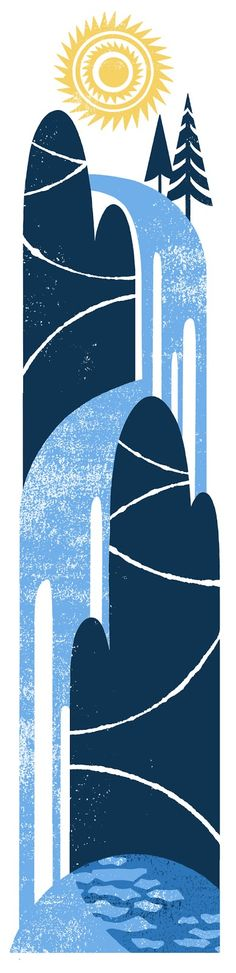 I love all things Lino-cut and I'm doing a linocut course at the moment.