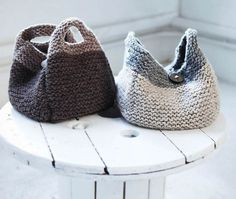 Bag, Purse and Tote Free Knitting Patterns. #SteelCityFiber