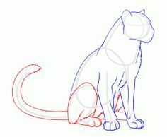 how to draw panthers, black panthers step 13 Animal Sketches, Animal Drawings, Pencil Drawings, Pantera Animal, Cat Drawing, Drawing Sketches, Cartoon Drawings, Easy Drawings, Animal Jaguar