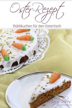 [Anzeige] Oster-Rezept - Rüblikuchen für den Ostertisch - #Ostern #Osterkuchen #Rüblikuchen #Möhrenkuchen #Karottenkuchen #Kuchen