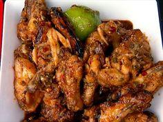 The best! Tailgating Asian Wings recipe from Guy Fieri via Food Network Guy Fieri, Top Recipes, Asian Recipes, Disney Recipes, Disney Food, Chinese Recipes, Turkey Recipes, Yummy Recipes, Gourmet
